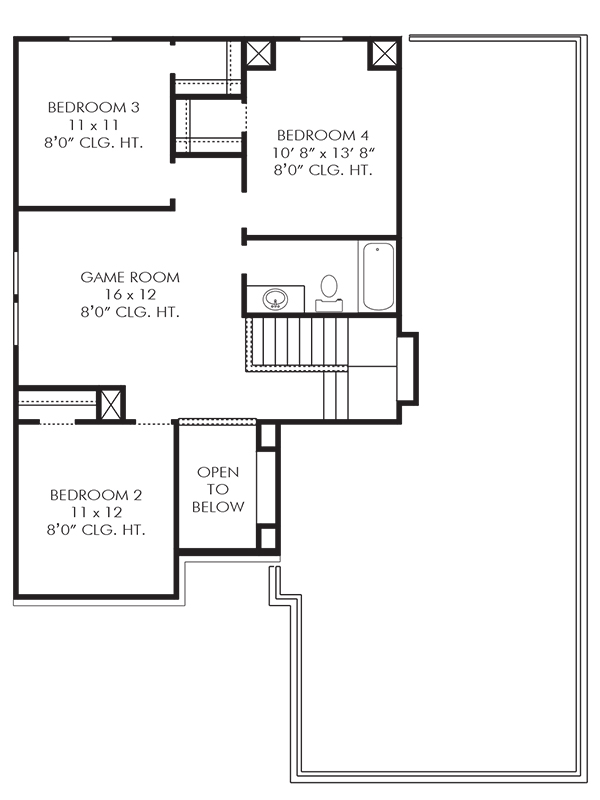 The Kempton Floor Plan